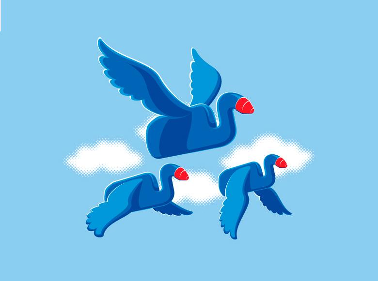 Unreal birds